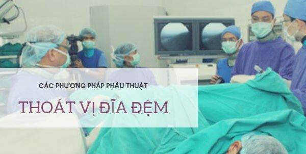 Tìm hiểu các phương pháp phẫu thuật cho bệnh nhân