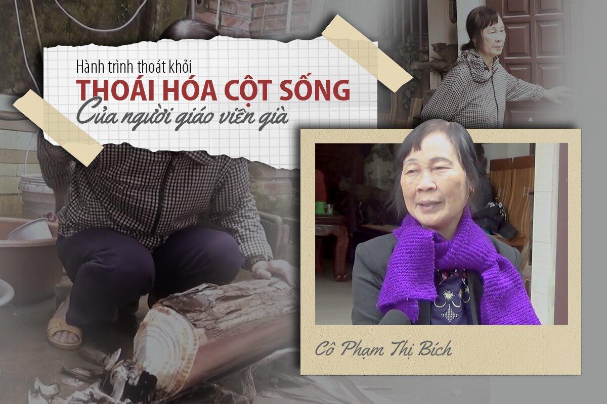 Cô Phạm Thị Bích (Bắc Ninh) thoát khỏi THOÁI HÓA CỘT SỐNG nhờ An Cốt Nam