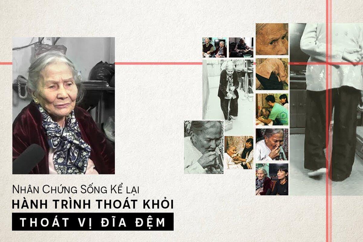 Cụ Nguyễn Thị Cúc – Tấm gương hạ gục: THOÁT VỊ ĐĨA ĐỆM dù đã ngoài 80 tuổi