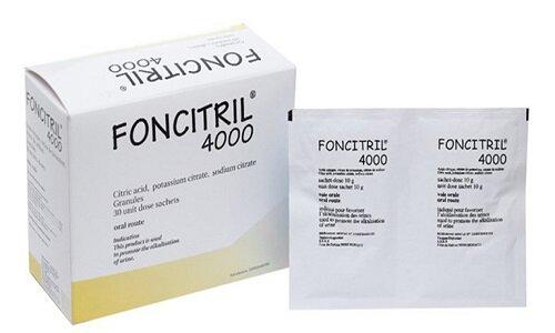 Foncitril 4000 là một thuốc điều trị bệnh đường tiết niệu