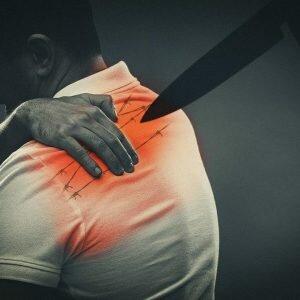 Hình ảnh đau lưng trên ở bệnh nhân