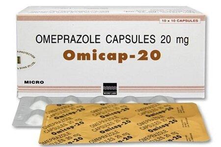 Hình ảnh thuốc Omicap - 20