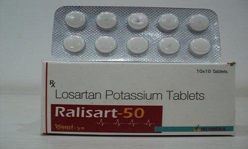 Hình ảnh của thuốc Losartan Potassium Tablets 50mg