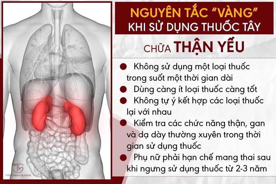 Một số nguyên tắc khi sử dụng thuốc để điều trị