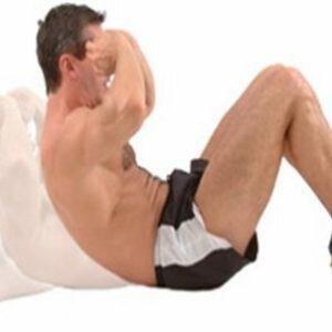 Cách gập bụng đúng tránh đau lưng