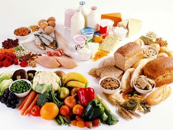 Chế độ dinh dưỡng rất quan trọng đối với sức khỏe