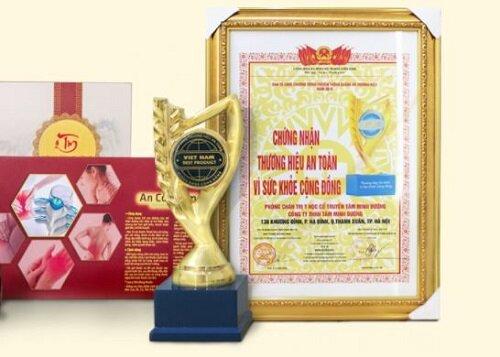 An Cốt Nam được công nhận là thương hiệu an toàn vì sức khỏe cộng đồng