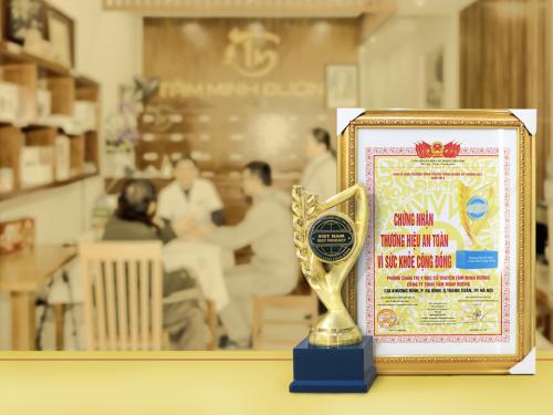 """Giải thưởng """"Thương hiệu an toàn vì sức khỏe cộng đồng"""""""