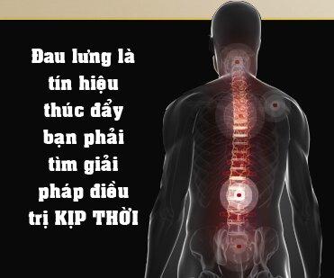 Đau lưng là tín hiệu thúc đẩy bạn phải tìm giải phát điều trị kịp thời