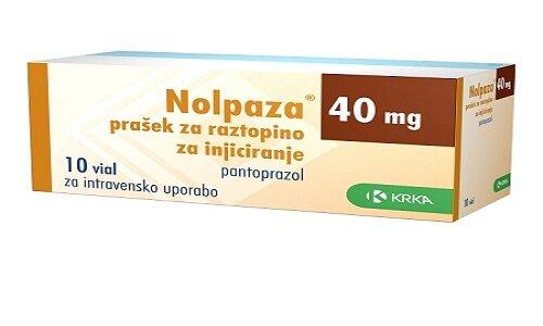 Hình ảnh thuốc Nolpaza 40mg
