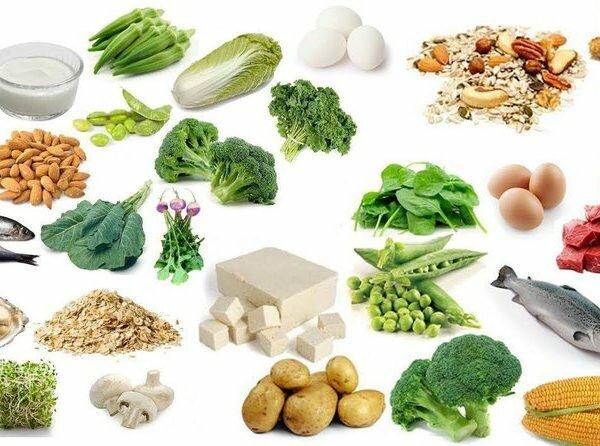 Nên ăn nhiều những loại thực phẩm có chứa nhiều canxi