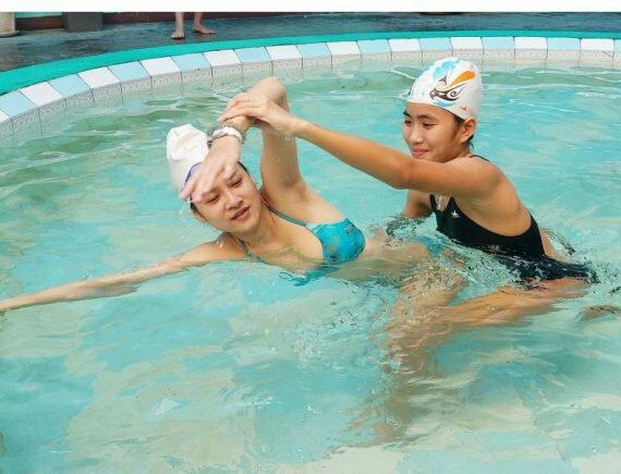 Bơi lội rất tốt cho người bị thoát vị đĩa đệm