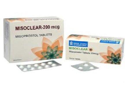 Thông tin về thành phần, tác dụng, liều dùng của thuốc Misoclear